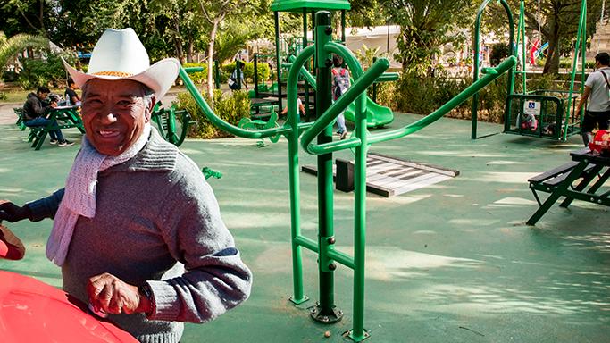 Gimnasios para adultos mayores