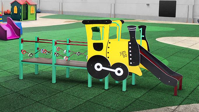Tren interactivo